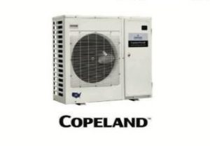 Copeland freestanding AC unit tended to by ServTech Air Conditioning Solutions